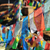 colorful player flag flying stock photo © paulwongkwan