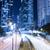 Hong Kong Night Car Trail stock photo © paulwongkwan