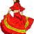genç · kadın · dans · flamenko · gül · seksi · moda - stok fotoğraf © pavelmidi