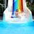 gelukkig · vrouw · beneden · waterglijbaan · vrouwen · hotel - stockfoto © pawelsierakowski