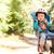küçük · erkek · bisiklet · çocuk · koltuk · açık · havada - stok fotoğraf © pekour