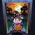 halloween · koe · illustratie · cute · deurlijst · nacht - stockfoto © penivajz