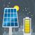batterij · zonnepaneel · geïsoleerd · witte · 3d · render · huis - stockfoto © penivajz