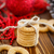 cookies · decorado · cinta · oscuro · rojo - foto stock © peredniankina