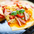 italiano · pizza · tocino · salami · mozzarella · queso - foto stock © peredniankina