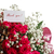 bouquet of red roses with thanks stock photo © peredniankina