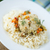 arroz · comida · restaurante · frango · jantar - foto stock © peredniankina