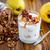 sweet yogurt with baked quince stock photo © peredniankina