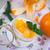 yoghurt · mandarijn- · sinaasappelen · home · zoete · vruchten - stockfoto © peredniankina
