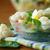 salata · domates · yumurta · yumurta · otlar · ahşap - stok fotoğraf © peredniankina