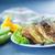 egészséges · vegetáriánus · cukkini · felszolgált · asztal · kés - stock fotó © peredniankina