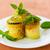 abobrinha · recheado · manjericão · prato · comida - foto stock © peredniankina