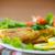 adag · hal · sültkrumpli · étel · zöld · kövér - stock fotó © peredniankina