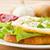 卵 · 新鮮な · レタス · サラダ · 菜 · 赤 - ストックフォト © peredniankina