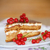 honey cake with cream and berries stock photo © peredniankina