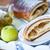 appels · schotel · rijp · gala · mosterd · Geel - stockfoto © peredniankina
