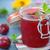 ontbijt · pruim · jam · hout · vruchten · keuken - stockfoto © peredniankina