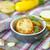schaal · knoflook · boter · diner · plaat - stockfoto © peredniankina