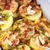 gebakken · aardappel · zure · room · spek · bieslook · shot - stockfoto © peredniankina
