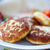 hal · sült · tányér · saláta · citrom · étel - stock fotó © peredniankina