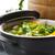 hideg · leves · zöldségek · hús · tányér · nyár - stock fotó © peredniankina