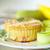 jambon · çedar · kahvaltı · bir · açmak - stok fotoğraf © peredniankina