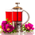 розовый · чайник · изолированный · белый · фон - Сток-фото © peredniankina