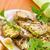 frito · abobrinha · fatias · manteiga · alho · comida - foto stock © peredniankina