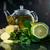 kubek · hot · herbaty · cytryny · pary · żywności - zdjęcia stock © peredniankina