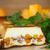 vers · gebakken · taart · pompoen · noten - stockfoto © peredniankina