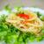 жареный · кальмар · продовольствие · обеда · пластина · лимона - Сток-фото © peredniankina