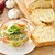 eieren · prei · knoflook · geïsoleerd · witte · voedsel - stockfoto © peredniankina
