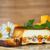 abóbora · bolo · de · queijo · torta · fatia · caseiro · chantilly - foto stock © peredniankina