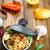 távolkeleti · központi · ázsiai · konyha · étel · eszik · főzés - stock fotó © peredniankina