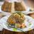 krumpli · krumpli · sajt · mártás · sonka · étel - stock fotó © peredniankina