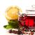 hibisco · frutas · flor · folhas · chá · planta - foto stock © peredniankina