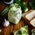 pasta cheese egg with garlic stock photo © peredniankina