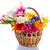 bouquet of flowers in a basket stock photo © peredniankina
