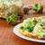 scrambled eggs with cauliflower stock photo © peredniankina