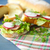 sandwich with lettuce ham and radish stock photo © peredniankina