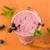 smoothie · fekete · ribiszke · csészék · asztal · étel - stock fotó © peredniankina