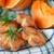 zoete · pompoen · muffins · witte · voedsel · achtergrond - stockfoto © peredniankina