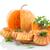 pompoen · muffins · zoete · mint · witte · voedsel - stockfoto © peredniankina