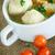 vegetable soup with meatballs stock photo © peredniankina