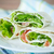 affumicato · trota · insalata · verde · pezzi · pesce - foto d'archivio © peredniankina