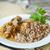 鶏 · 肉 · リーキ · クリーム · ソース · 食品 - ストックフォト © peredniankina