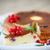 творог · пирог · Ягоды · украшенный · мята · продовольствие - Сток-фото © peredniankina