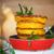 abóbora · panquecas · fundo · laranja · outono · café · da · manhã - foto stock © peredniankina