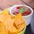 salsa · saus · houten · tafel · voedsel · restaurant · Rood - stockfoto © peteer