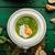 çorba · genç · bezelye · küçük · sarımsak - stok fotoğraf © peteer